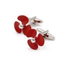 VAGULA qualidade fã camisa Metal Gemelos botões de punho (HLK35143)