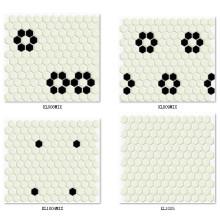 Azulejo de mosaico cerâmico 3D