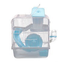 Hamster Cage Transparent Castle Hamster Supplies Villa Small Castle Double-Storey Hamster House