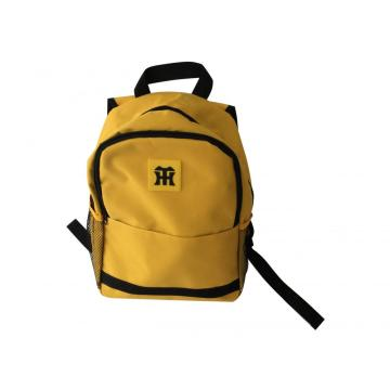 Practical yellow casual backpack