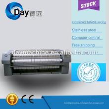 La venta caliente y de alta calidad CE eléctrico solo rodillo planchadora