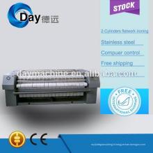 Vente chaude et haute qualité CE électrique simple rouleau repasseuse à plat