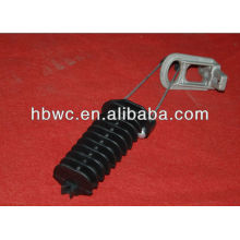 anchoring assembly clamp for ABC cable