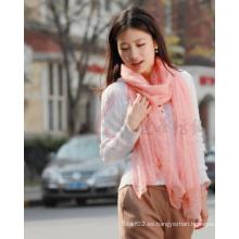 Bufanda de lana de lana Merino (12-BR010702-1.7)