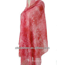 Kaschmir Seide Kammgarn bedruckten Schal