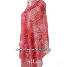 pañuelo estampado estambre de seda de cachemira