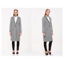 2016 Winter Woolen Garment Customized Women′s Wear Fashion Maxi Coat