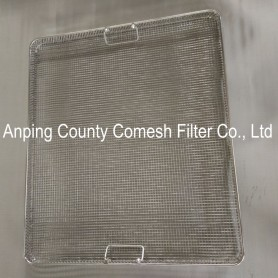 Stainless Steel Wire Mesh Serving Tray