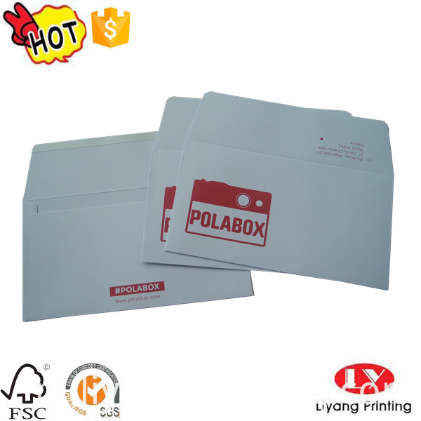 envelope with logo
