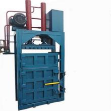 vertikale hydraulische Altpapierballenpresse