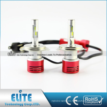 H13 Coche LED Bombillas Kit de conversión turbo ventilador 4000lm 6000k Fácil instalación