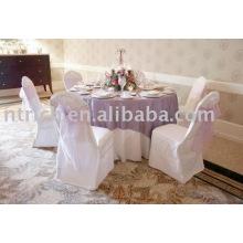 Cubierta de la silla, 100% poliéster cubierta de la silla, cubierta de lavado fácil la silla del banquete
