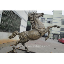 Modern Large Famous Arts Stainless steel Horse sculpture for outdoor decoration