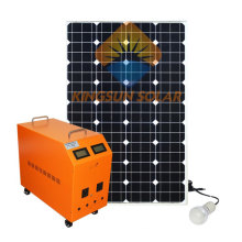 100W Solar Panel System for Home Roof