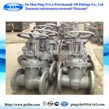 Pingyilu gate valve and flange