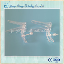 Disposable gynecological exam middle screw vaginal speculum