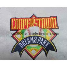 Logotipo real do bordado da venda por atacado da fábrica
