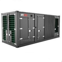 Vereinigen Sie Diesel-Motor-Generator-Satz der Energie-600kVA Doosan