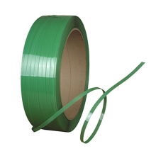 pet cord polyester webbing buckle band 20mm tension pad thin belt clip round cargo box strap semi automatic machine