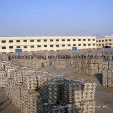 Lingot d'aluminium de haute qualité à 99,9%