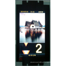 Display LCD de elevador, elevador Ture cor Display (CD600)