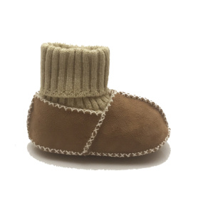 sheepskin soft sole infant baby shoes