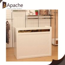 Sample available factory directly fashional slatwall display cabinet