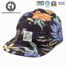 2016 New Adjustable Era Colorful Snapback Camper Cap with Sublimation