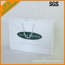 recycled large paper shopping carry bags(PRP-906)