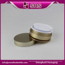 beauty container and cosmetic jar and face cream luxury plastic screw top container
