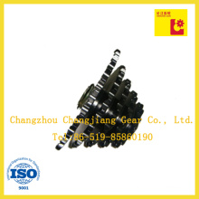 Steel Tooth Roller Chain Sprocket with Multiple Rows