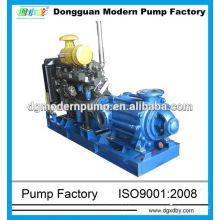 Dieselbetriebene horizontale mehrstufige Pumpe der D-Serie