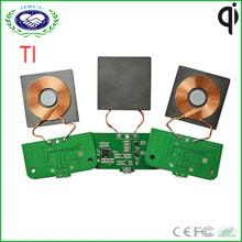 1 bobine Ti Solution chargeur sans fil PCBA modèle de chargeur sans fil Qi personnalisé pour meubles