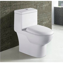 Venta caliente baño cerámica lavable una pieza WC