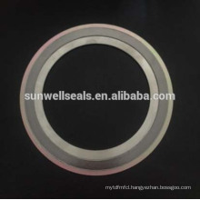 316 (L) Graphite/Fg/Cgi/Spiral Wound Gaskets with Inner and Outer Ring(SUNWELL)