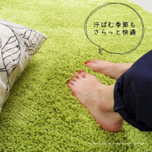 Tapis tressé tissus bon marché tapis moderne