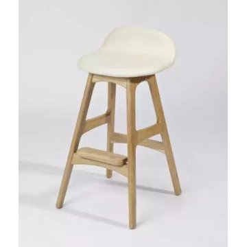 Reproduction erik buch tabourets de bar en bois massif