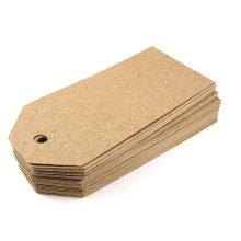Tag de Kraft do Tag do cair de papel das calças de brim