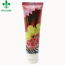 envase cosmético del jabón del eco-amistoso del tubo plástico del postre