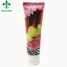 tubo de sobremesa de plástico sabão eco-friendly embalagens de cosméticos