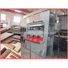 Máquina de prensa de moldes de madeira / moldura de porta máquina de prensagem a quente