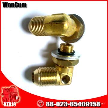 Cummins K19 Diesel Engine Parts Male Union Elbow 3033023