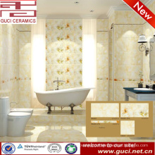 hot sale 300x450 porcelain cream color floor wall tile for bathroom