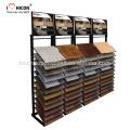 Catching Eyes Of Contractors Hausbesitzer Heavy Duty Floor Mosaik oder Keramik Fliesen Display Rack Unit Slide Fliesen Display Stand