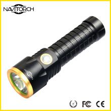 Linterna impermeable de la distancia larga del haz de la batería de T6 LED 26650 (NK-2660)