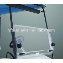 Pare-brise acrylique de qualité supérieure pour chariot de golf