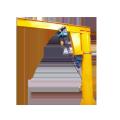 10 ton jib crane free standing for sale