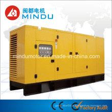 Gerador diesel silencioso do baixo consumo de combustível Weichai 250kVA