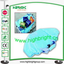 210d Supermarket Polyester Trolley Bag