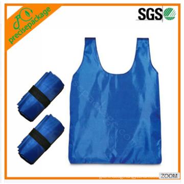 folding non-woven polyester foldable shopping bag